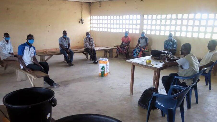 Au Togo, face au covid-19la CTOP organise des formations retrientes avec mesures barrières